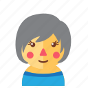 avatar, cute, doll, emoticon, girl, smile icon