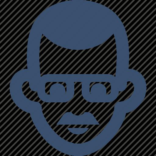 avatar, boy, businessman, character, human, male icon
