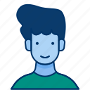 avatar, boy, man, people icon