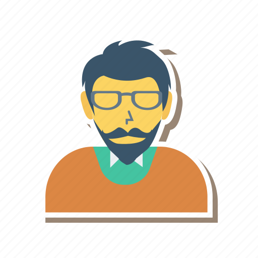 adult, avatar, man, person, profile, user, worker icon