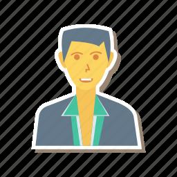avatar, employe, employer, person, profile, user icon