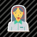 avatar, female, help, person, profile, souuport, user