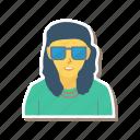 avatar, boy, glasses, man, person, profile, user