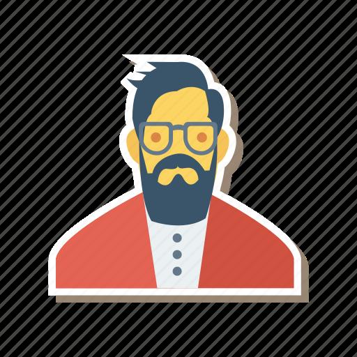 avatar, captain, human, man, person, profile, user icon