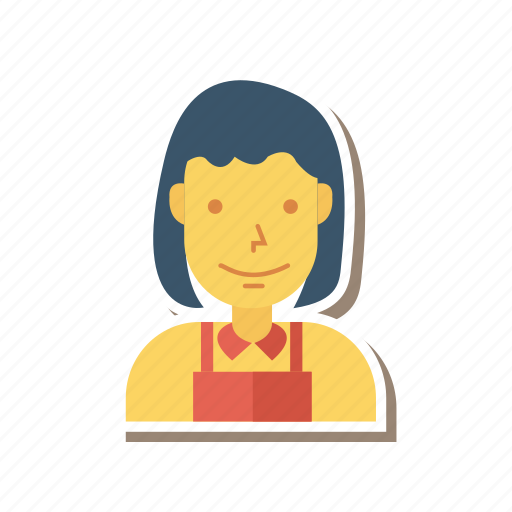 Avatar, girl, lady, person, profile, user, woman icon - Download on Iconfinder