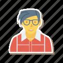 avatar, emplyee, man, person, profile, user, workshop