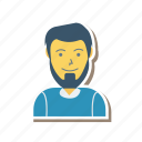 profile, worker, young, avatar, person, user, man