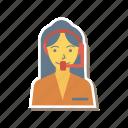 avatar, female, girl, person, profile, support, user icon
