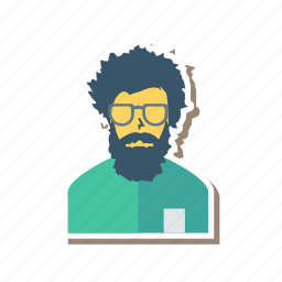 avatar, man, manager, person, profile, user, worker icon