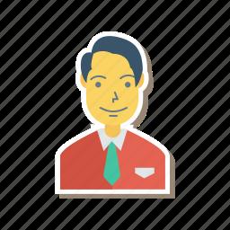 avatar, boy, man, person, profile, user, young icon