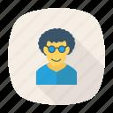 avatar, business, fashion, person, profile, user, young icon