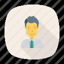 avatar, business, hero, person, profile, user, worker icon