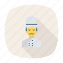 avatar, chef, cook, person, profile, user, worker icon
