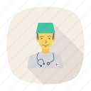 avatar, doctor, male, man, person, profile, user icon