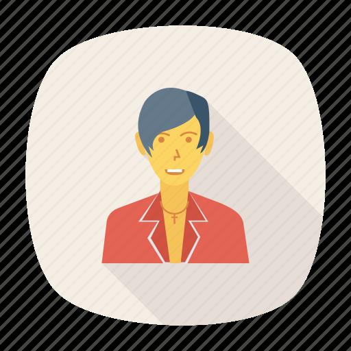 artist, avatar, fashion, man, person, profile, user icon