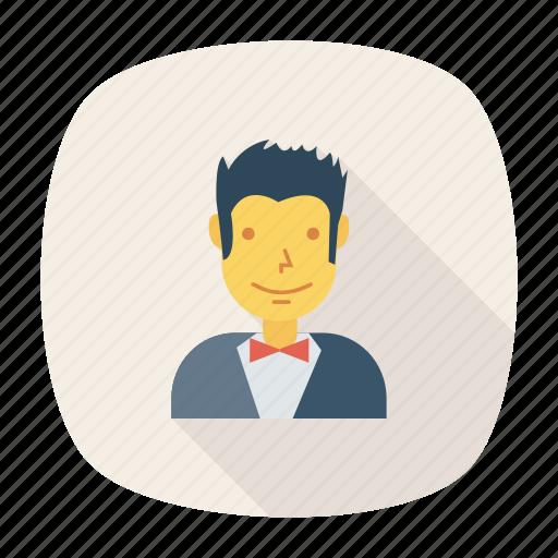 avatar, fashion, man, person, profile, user, young icon