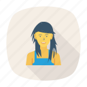 avatar, female, person, profile, style, user, young