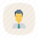 profile, hero, business, worker, person, avatar, user