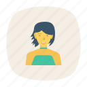 avatar, fashion, lady, person, profile, user, woman icon