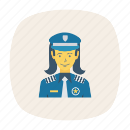 avatar, female, girl, person, profile, security, user icon