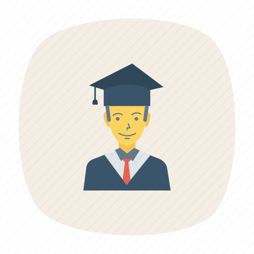 avatar, male, person, profile, student, user, young icon