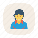 avatar, employee, person, profile, user, worker, youngster icon