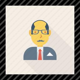 avatar, employer, man, old, person, profile, user icon