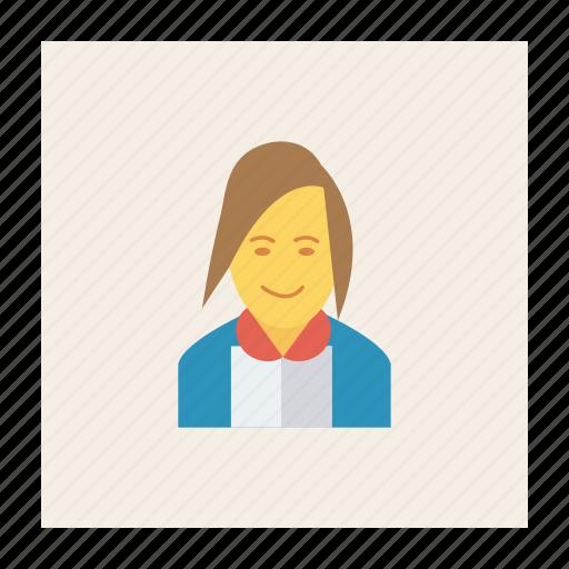 avatar, business, fashion, girl, person, profile, user icon