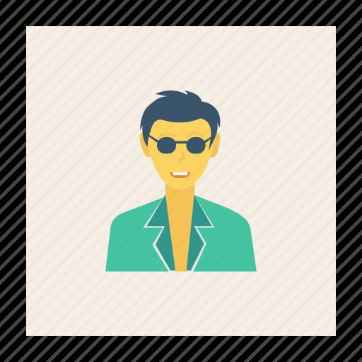 avatar, boy, fashion, person, profile, user, young icon