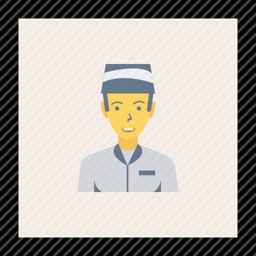 avatar, boy, guard, person, profile, user, young icon