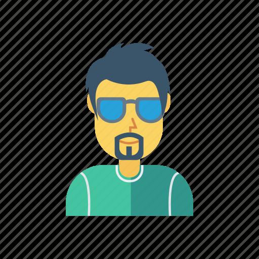avatar, employee, gental, man, person, profile, user icon