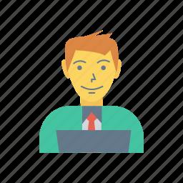 avatar, boy, help, person, profile, support, user icon