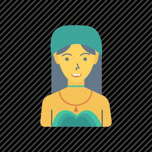avatar, beauty, fashion, lady, person, profile, user icon
