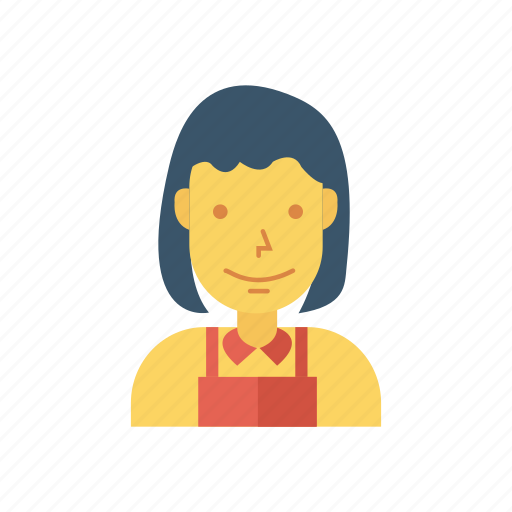 avatar, girl, lady, person, profile, user, woman icon