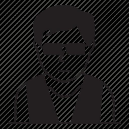 boy, male, man, person icon
