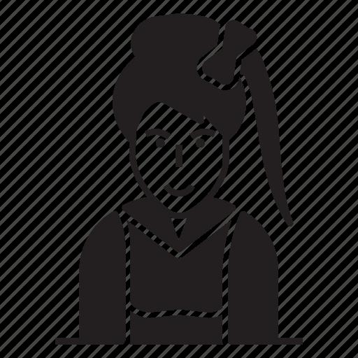 avatar, female, lady, women icon