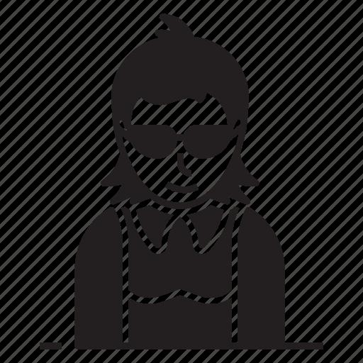 avatar, girl, lady, teenager icon