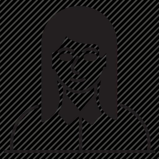 avatar, female, lady, user icon
