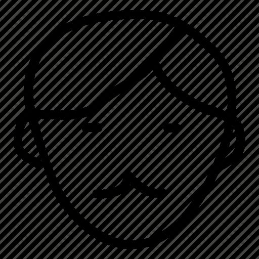 male, man, officer, seller, teacher, user, witness icon