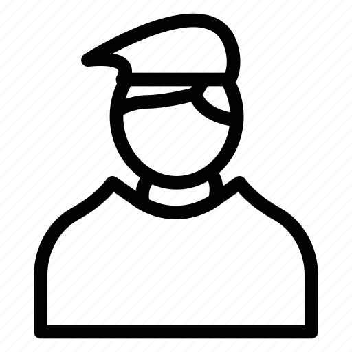 customer, happyman, hero, male, man, seller, user icon
