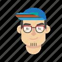 avatar, boy, face, hair, head, man, style icon