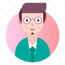 avatar, businessman, manager, people, profile icon