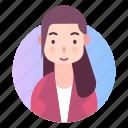 avatar, female, people, profile, woman