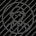 avatar, doctor, health, profession icon