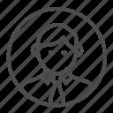 avatar, employee, profession, professional icon
