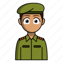 military, profession, avatar, job, soldier