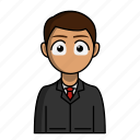 avatar, business, businessman, job, profession