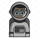 astronaut, avatar, job, profession, profile