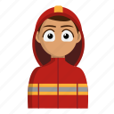 avatar, fire, firefighter, job, profession icon