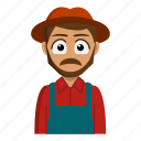 avatar, farmer, job, person, profession icon